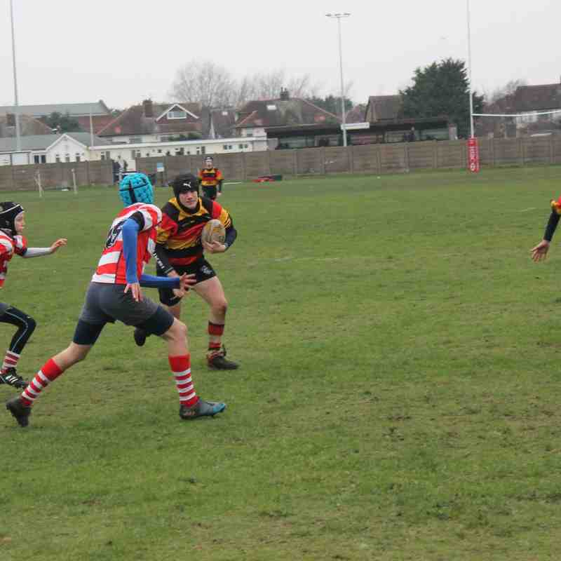 Southport U14's 17 Vale of Lune 7