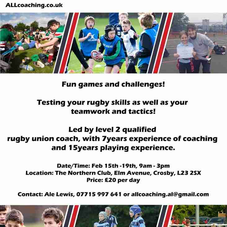 ALL COACHING RUGBY CAMP