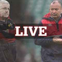 ENGLAND v WALES SUNDAY LIVE AT THE CLUB
