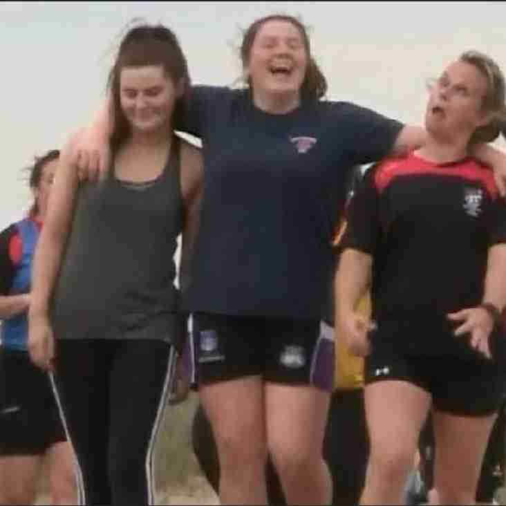 """BBC SPORT ... """"GET INSPIRED"""" FEATURES SOUTHPORT LADIES"""