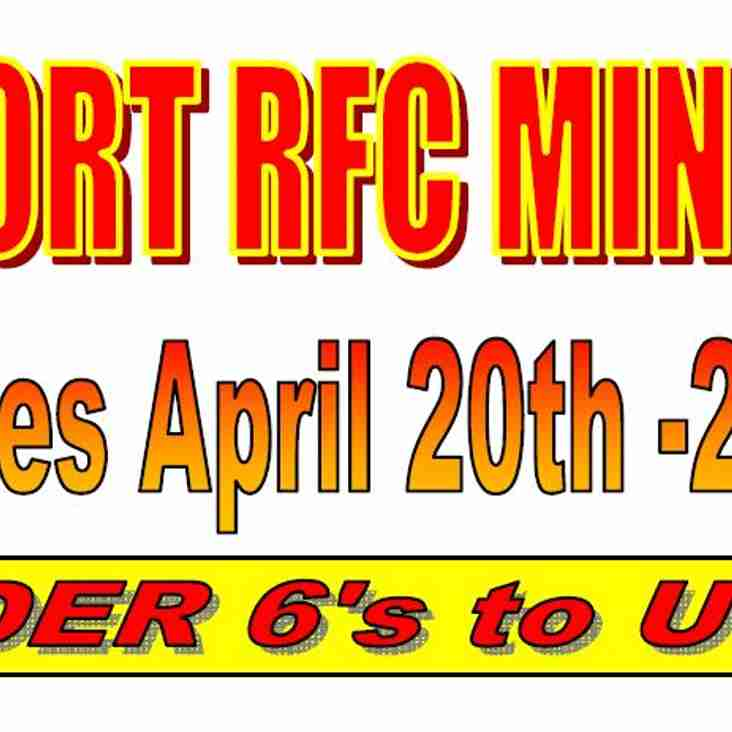 MINIS TOUR LAUNCHED