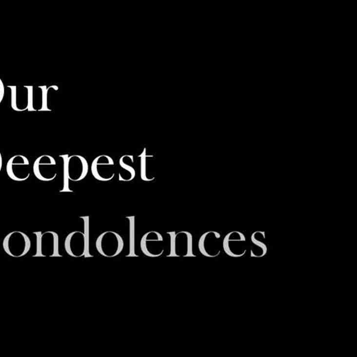 Condolences ...