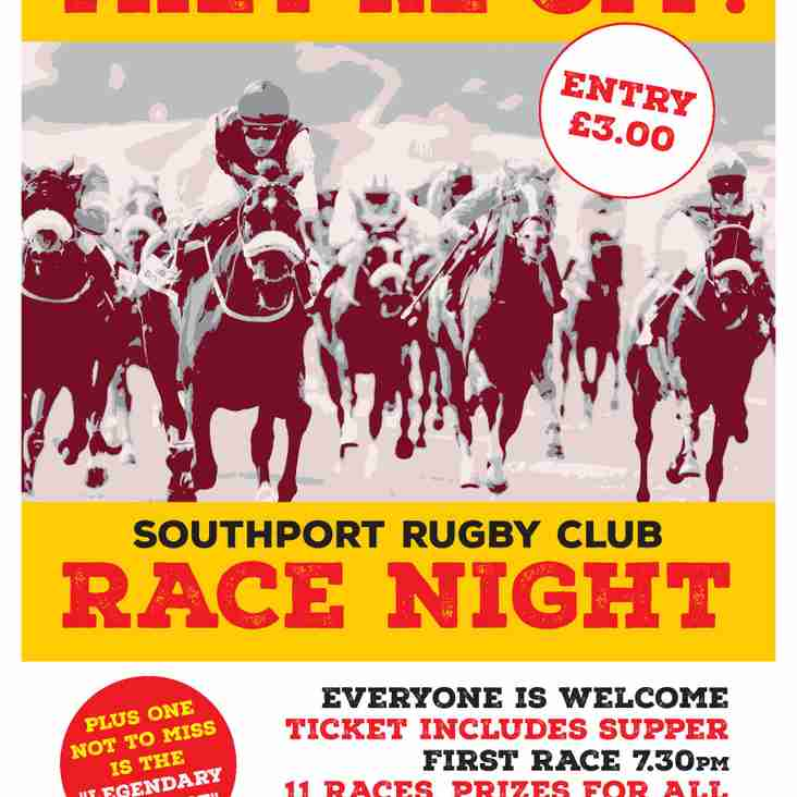 RACE NIGHT AT THE CLUB