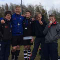 Perthshire P7s Runners-Up at Boroughmuir Tournament