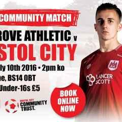 Bristol City Come to the Grove