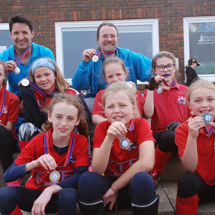 Girls U10&#039;s  win silver in Kent Championships<