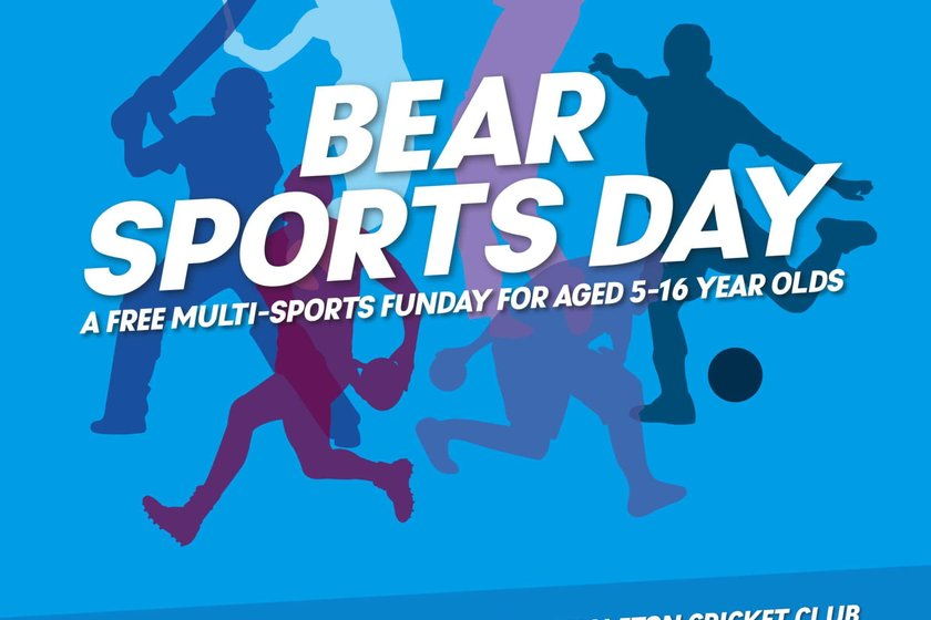 Bear Town Sports Day - Sunday 17th June 2018 - 10am till 3pm