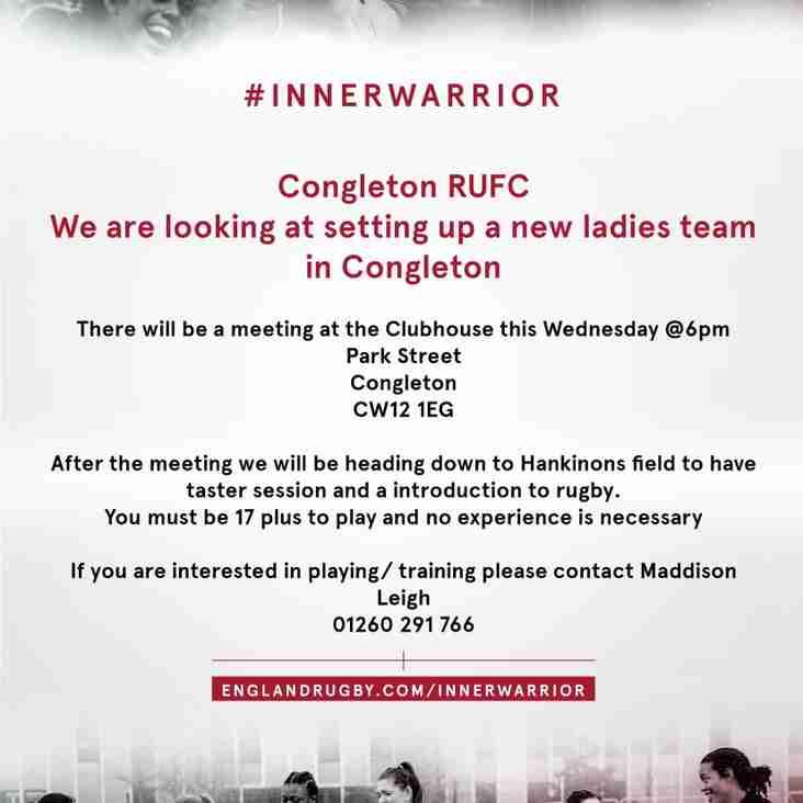 Congleton RUFC - Ladies Team