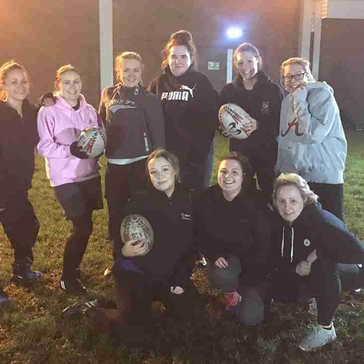 Congleton Ladies Rugby Team - Training Update