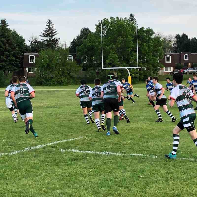 June 19 - U15 Highland boys versus Waterloo