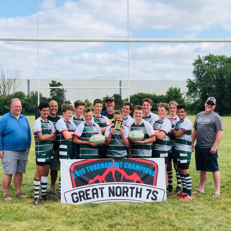 Great North 7's Tournament July 12 - U14 Champs!