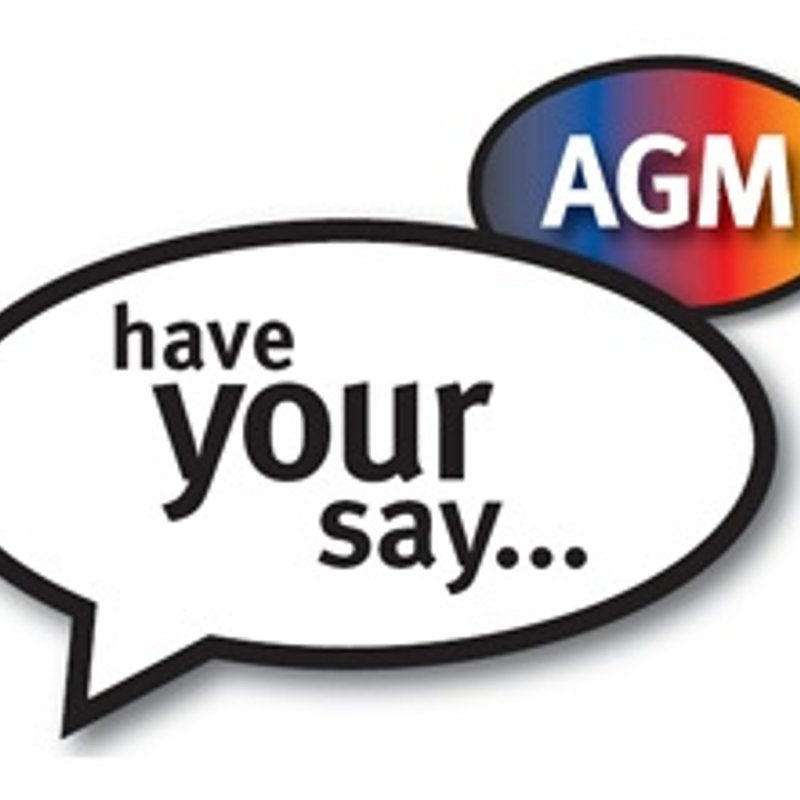 AGM - Wed 7th June