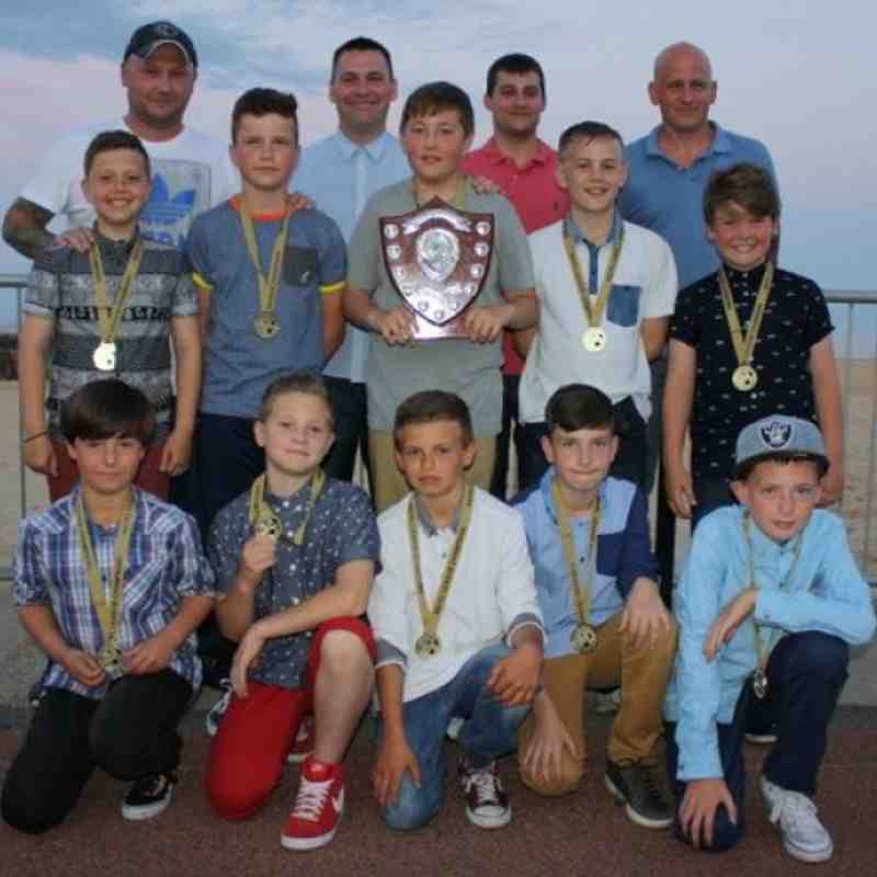 UNDER 11s LEAGUE CHAMPIONS FOR THE 3rd SEASON IN A ROW