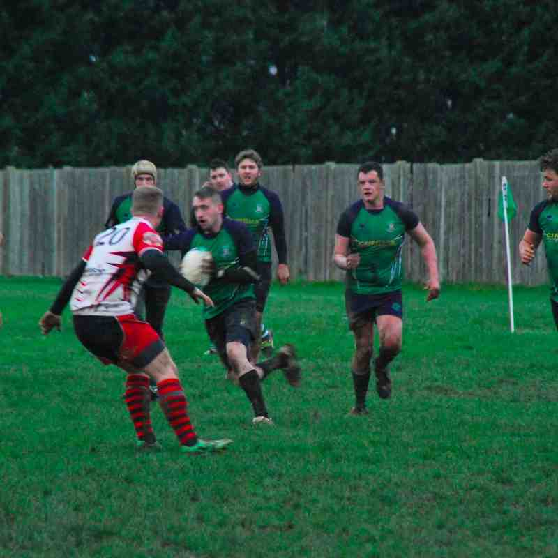 Long Buckby 2nd XV vs Corby - 16/01/2016