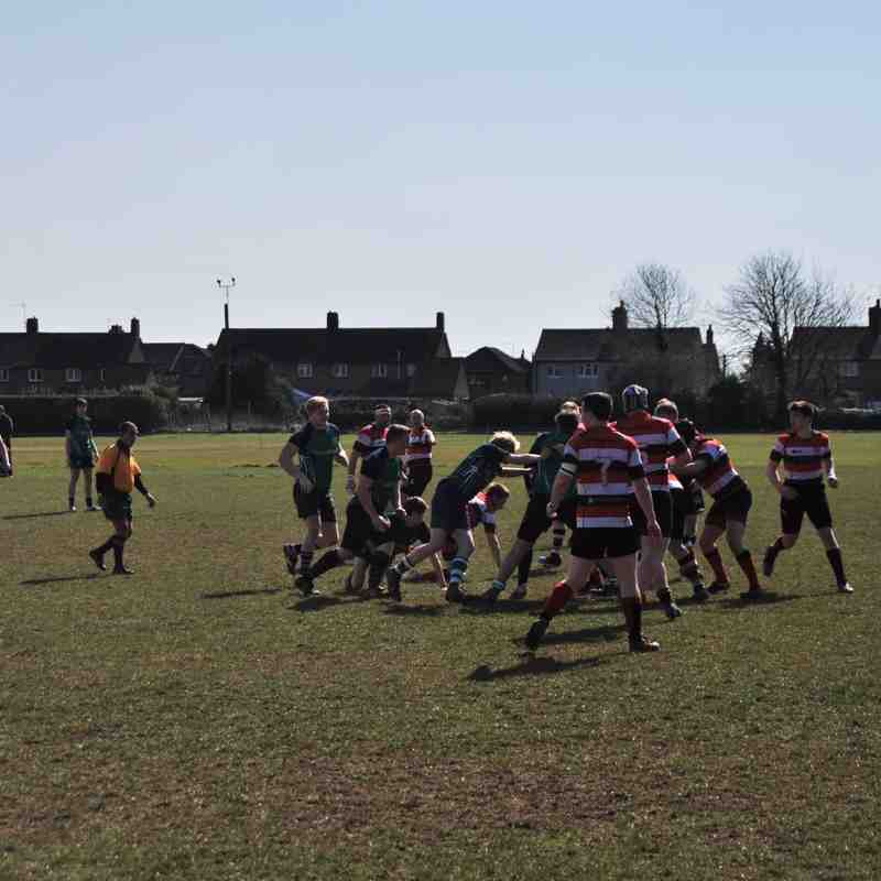 Long Buckby 2nd XV v Oundle 2nd XV
