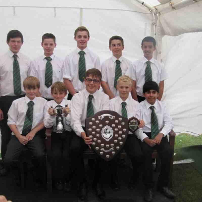 Milford Hall U'13' Team 2012