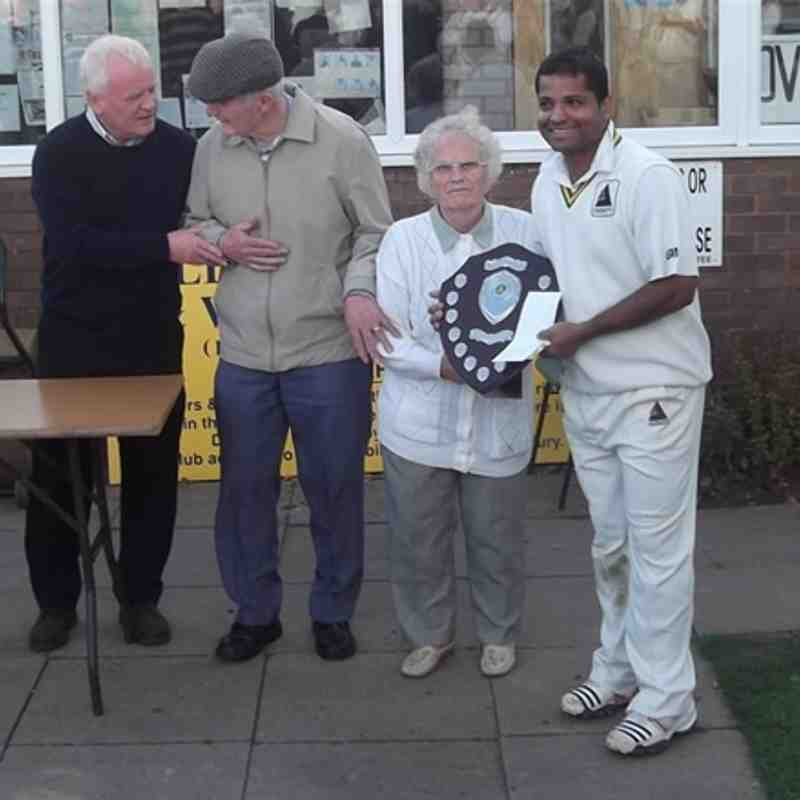 Paul Humphries Memorial Trophy Winner 2011
