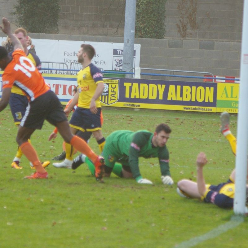 TADCASTER ALBION 1  v   BRIGHOUSE TOWN 1