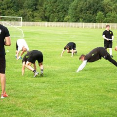 town players and mp fit training session