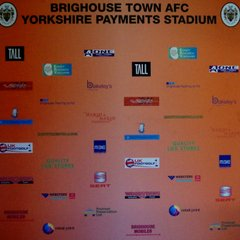 brighouse town afc  club sponsors  thank you everybody