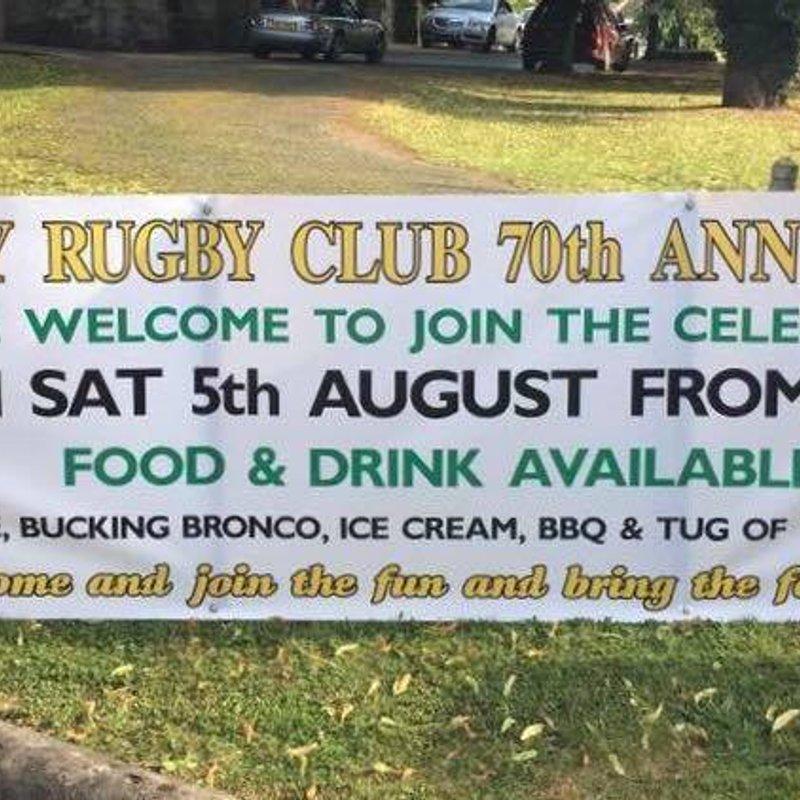 70th Anniversary  Family Fun Day this Saturday