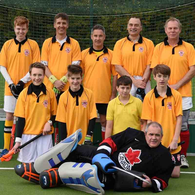 Mens team photos 10th Oct 2015