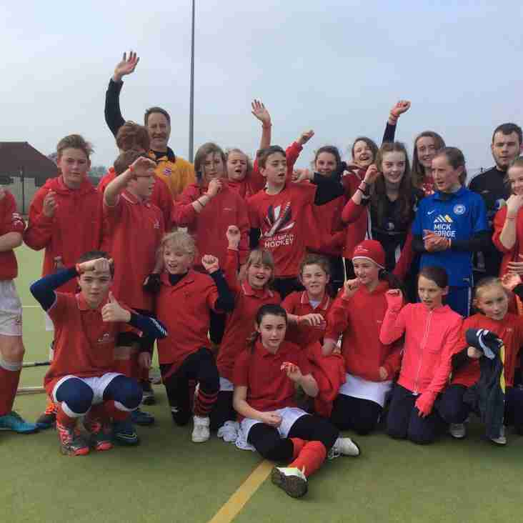 BDHC Juniors Raise Money for Sports Relief 2016