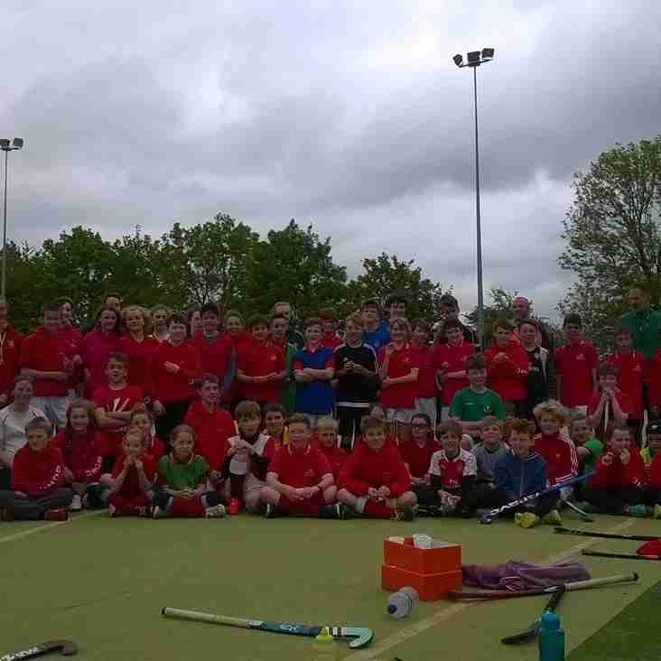 Juniors Receive Stick Skills Awards