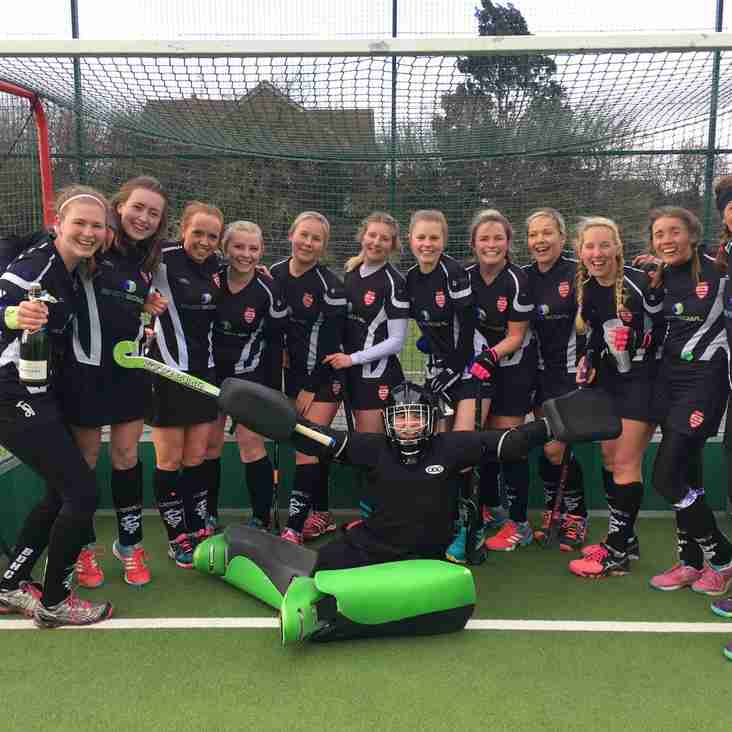 BDHC Ladies 1s crowned division champions