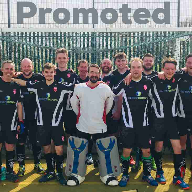 BDHC Men's 2s Promoted to Div2N