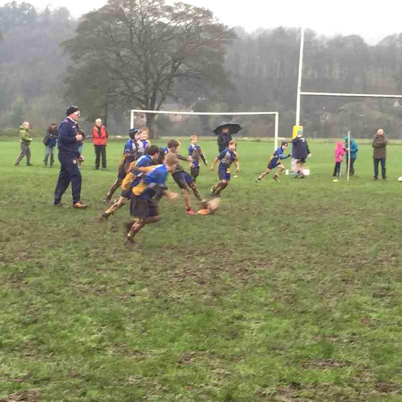 Matlock Rugby were U10's, U11's, U12's, U13's 2017/18