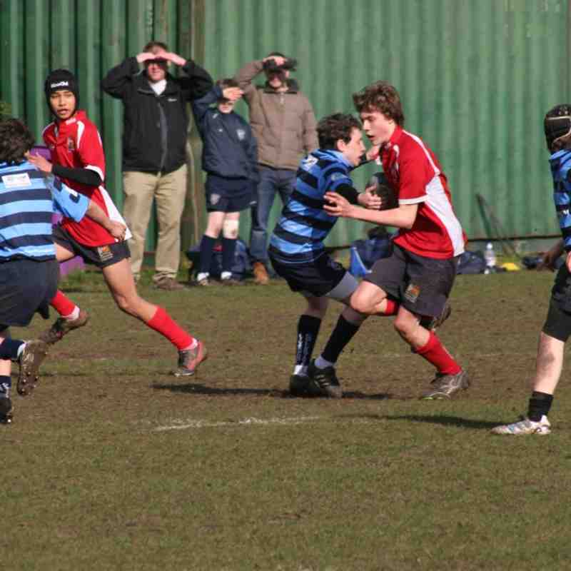 U14 vs Liverpool Collegiate Feb 2012