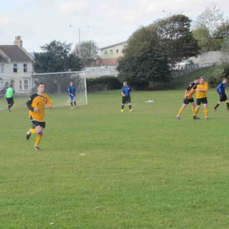 Reserves Vs Southwick Rangers 29/9/12