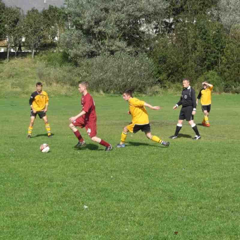 Reserves Vs Hunston Community Club 6/10/12