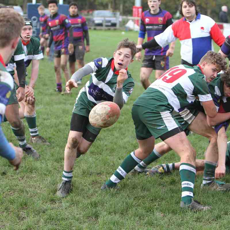 U15 Reading v Maidenhead 22/11/15