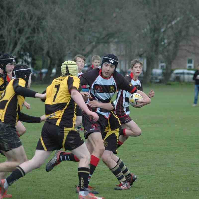 Lydney U14's v Berry Hill 2016