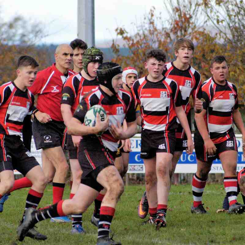 Lydney U16's v Berry Hill 2017