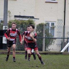 Lydney U16's v Old Richians CC QF