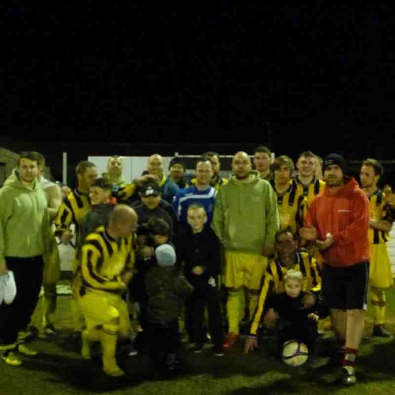 Temple Colston Cup Final - Stapleton 1 De Veys Reserves 0