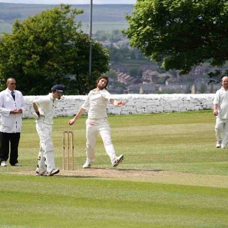Blackley v Shelf CC 2nd XI- Shield 2nd Round (Away)