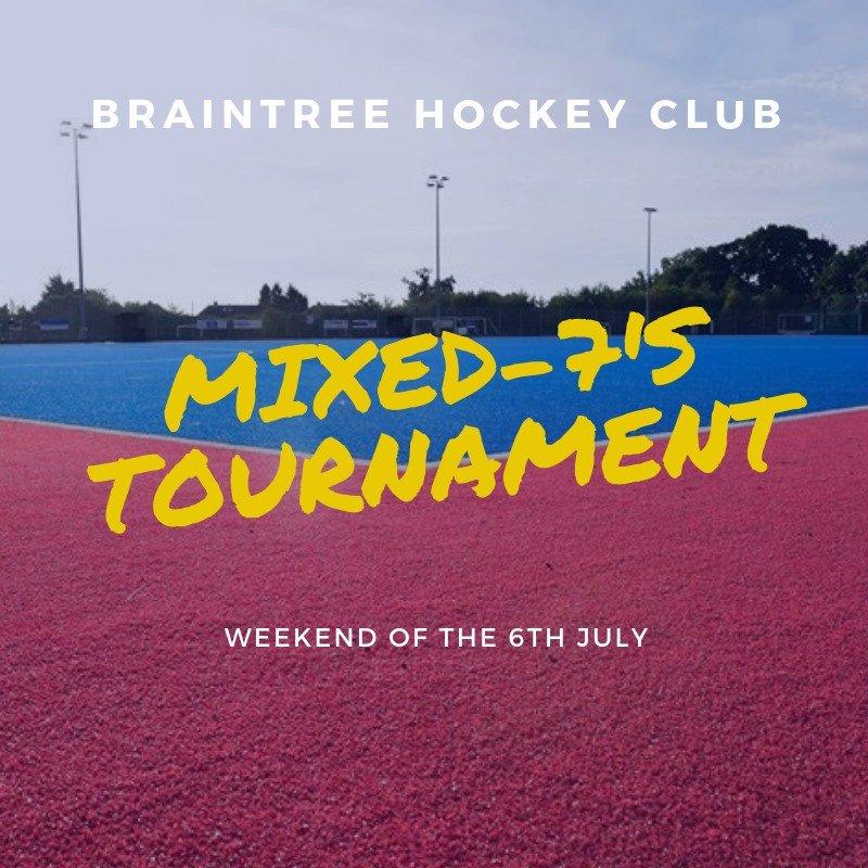 Inter-club mixed 7's Tournament Saturday 6 July