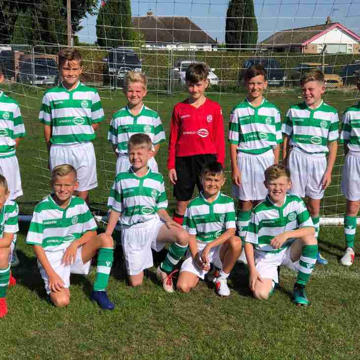 Priory Celtic U11 White claim back to back Division 1 titles!