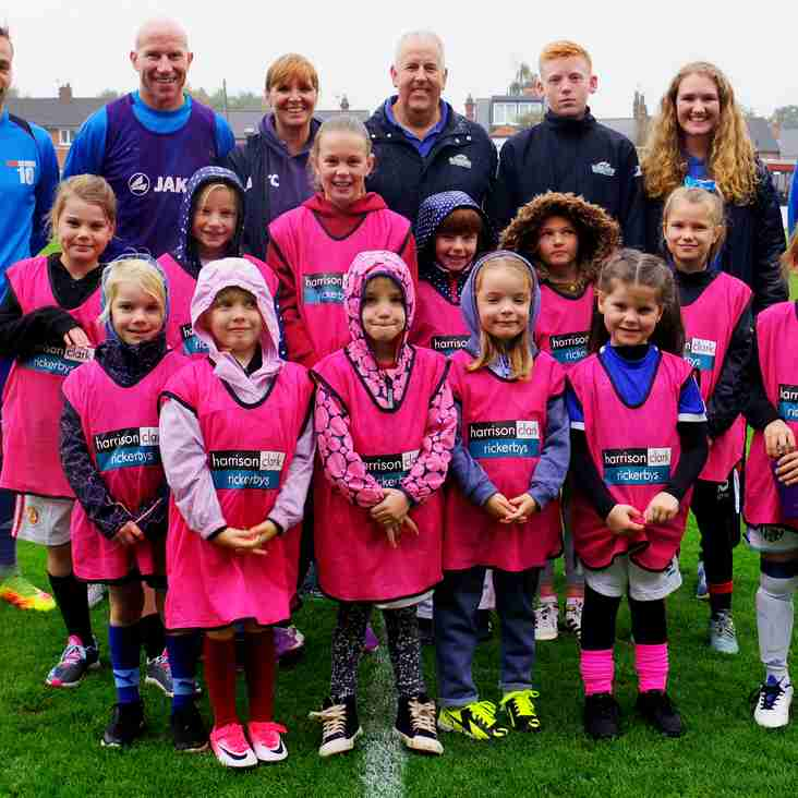WORCESTER WILDCATS: Girls, come and join the football fun!