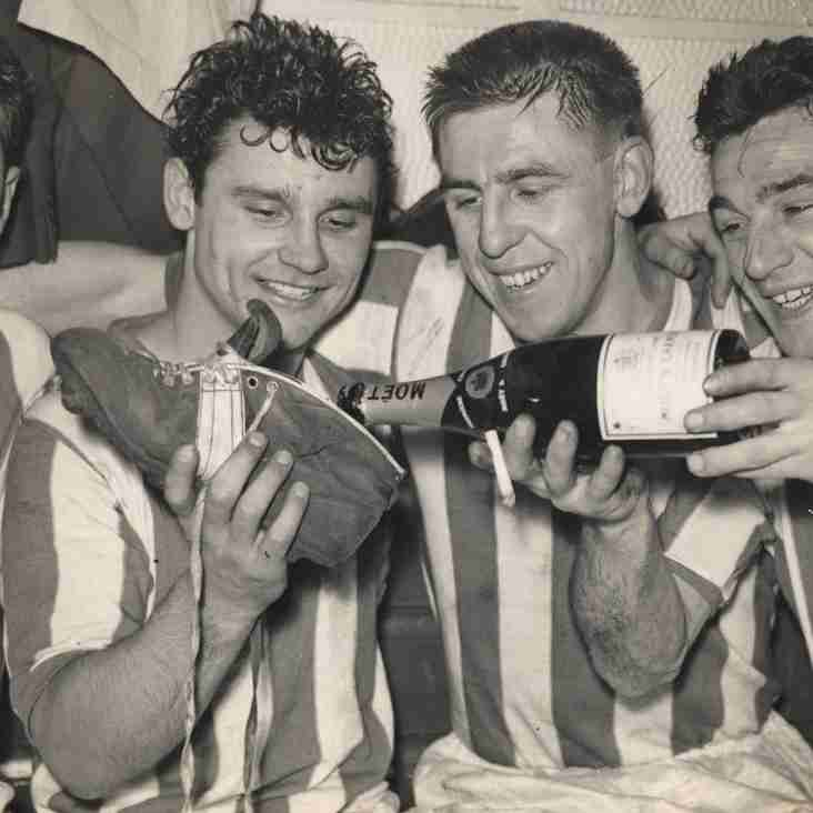 PICTURES FROM THE PAST: City celebrate beating Liverpool in the FA Cup, January 1959