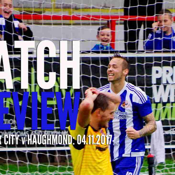 PREVIEW: City back on home soil on Saturday with the visit of Haughmond