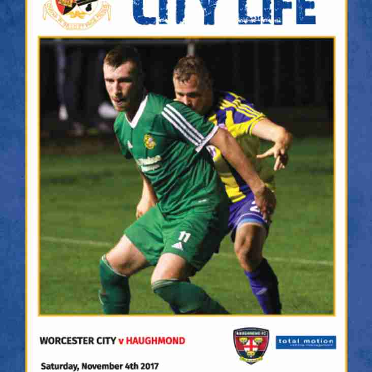 MATCHDAY PROGRAMME: A packed issue in store for you on Saturday