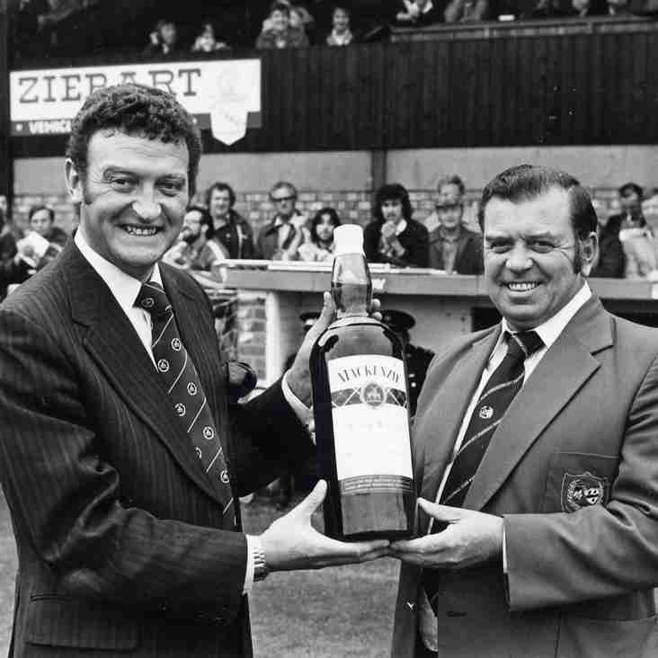 PICTURES FROM THE PAST: Nobby Clark, Alliance Premier League Manager of the Month, August 1980