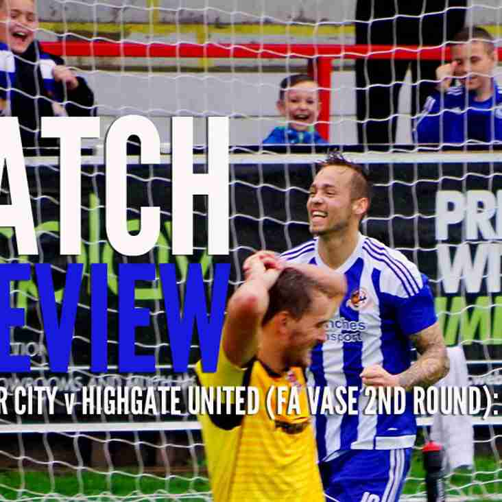 PREVIEW: City back on the Buildbase FA Vase trail on Saturday