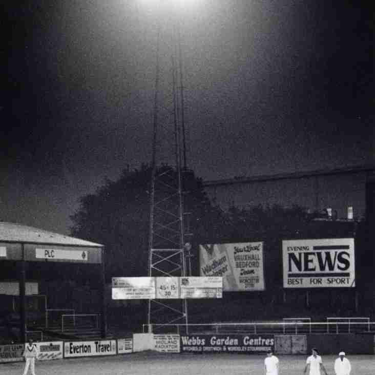 PICTURES FROM THE PAST: Floodlit cricket, St. George's Lane, 1987