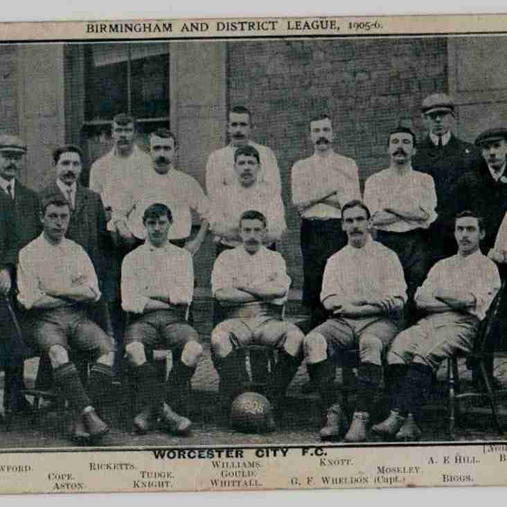 PICTURES FROM THE PAST: Worcester City FC, 1905/06